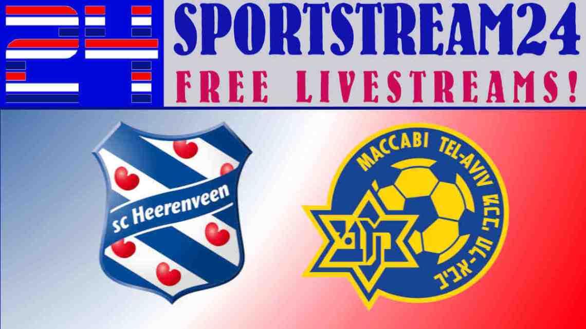 SC Heerenveen - Maccabi Tel Aviv livestream