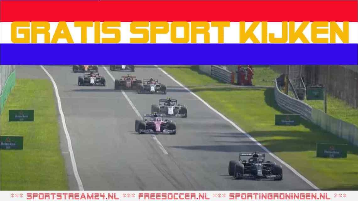 Formule 1 Grand Prix van Italië 2021