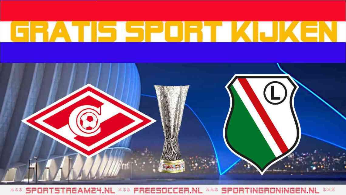 Livestream Spartak Moskou - Legia Warschau