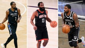 Durant, Irving and Now Harden. How the Nets Will Make This Trio Work