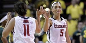 Tia Presley has played a crucial part in the program's turnaround. (Courtesy of WSUCougars.com)