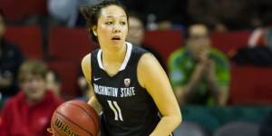 Junior point guard Dawnyelle Awa's ball handling is key to WSU's offensive attack. (Courtesy of WSUCougars.com)