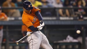 George Springer burst on to the scene in 2014 with 20 home runs. (Courtesy of RantSports)