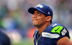 Russell Wilson and the Seahawks hope to have a new deal done by training camp. (Photo by Steve Dykes/Getty Images -- The Big Lead)