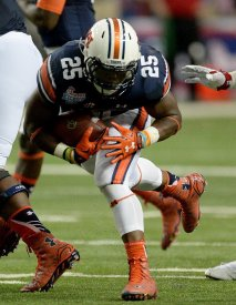 Auburn's offense started clicking when they relied on Peyton Barber to carry the ball.