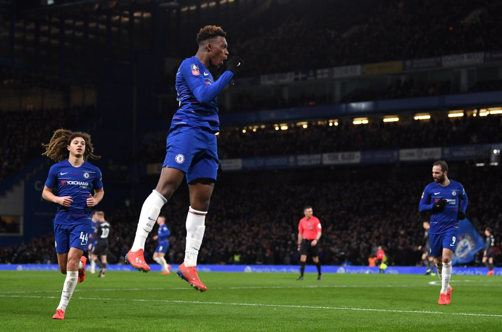 Image result for hudson-odoi fa cup
