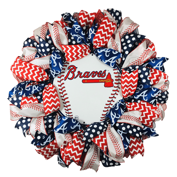 Atlanta Braves Wreath