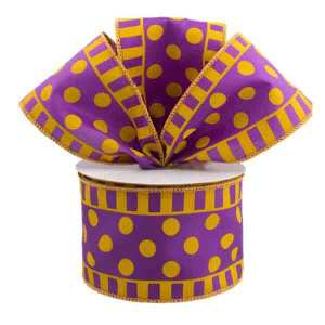 Purple and Gold Ribbon