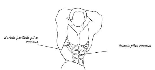 preso raumenys