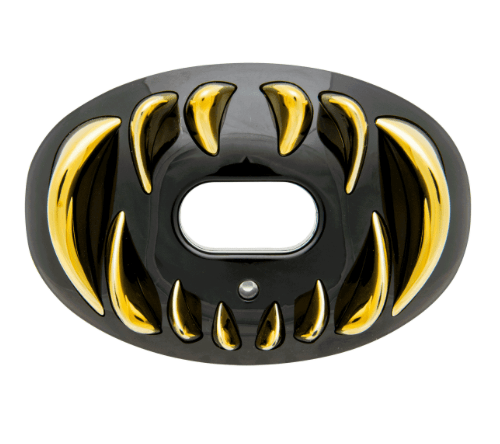 BATTLE PREDATOR 3D LIPS GUARD PROTEGE DENTS CHROME