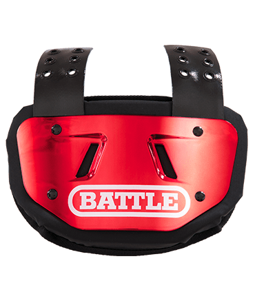 BACK PLATE BATTLE CHROME