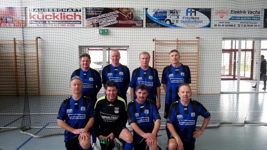 Thüringer Hallenmeisterschaft Alte Herren Ü 55 in Bad Salzungen