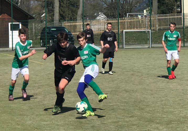 SG Tanna/Oettersdorf - SG Eintracht Camburg 2:0 (1:0)