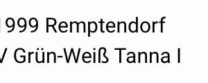 Remptendorf – Tanna