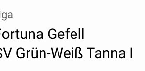 Gefell – Tanna