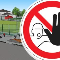 Schließung Sportanlage