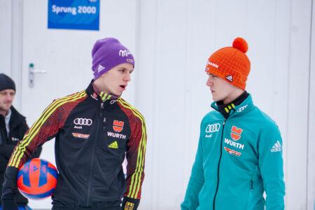 Andreas Wellinger, Stephan Leyhe - WC Garmisch-Partenkirchen 2018