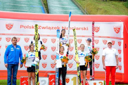 Daniela Haralambie, Yūka Setō, Kinga Rajda, Elisabeth Raudaschl, Abigail Strate, Sara Marita Kramer - FIS Cup Szczyrk 2018