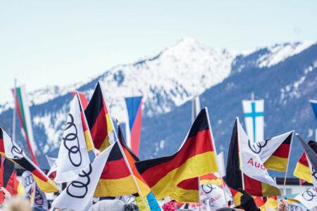Flags - WC Garmisch-Partenkirchen 2018
