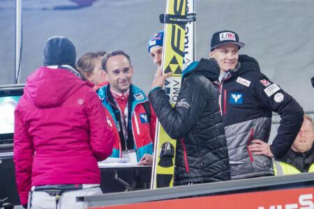 Gregor Schlierenzauer, Daniel Huber - WC Bischofshofen 2018