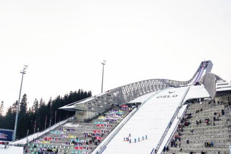 Holmenkollbakken - WC Oslo 2018