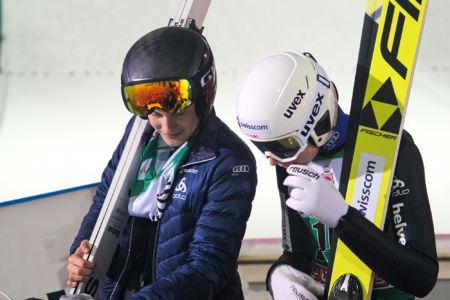 PŚ Lahti 2019 - Dominik Peter i Andreas Schuler