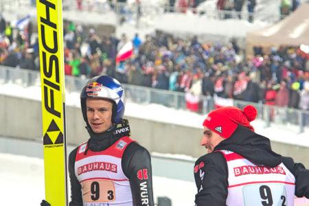 PŚ Lahti 2019 - Andreas Wellinger i Richard Freitag