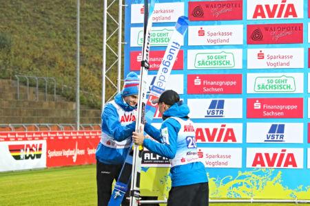 SGP Klingenthal 2019 - Anže Lanišek, Marius Lindvik
