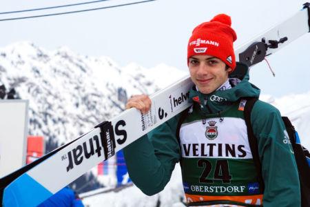 Constantin Schmid - WC Oberstdorf 2019