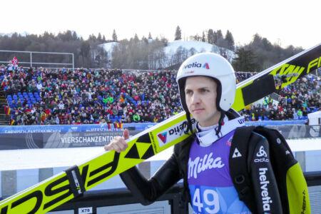 Simon Ammann - WC Garmisch-Partenkirchen 2018