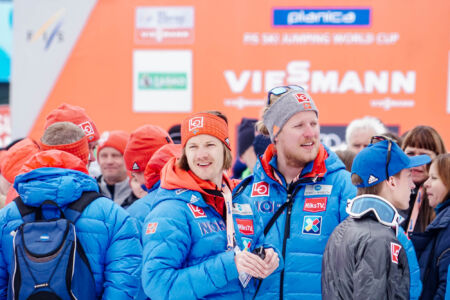 Tom Hilde, Andreas Vilberg - WC Planica 2018