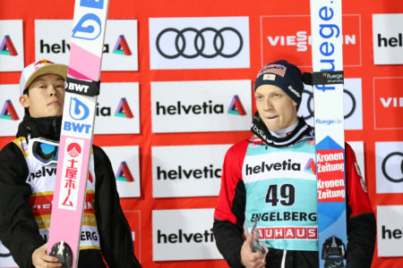 WC Engelberg 2019 - Ryōyū Kobayashi, Jan Hörl