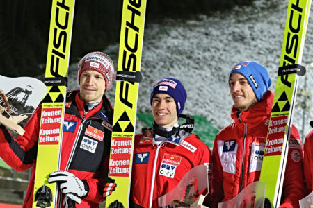 WC Klingenthal 2019 - Michael Hayböck, Stefan Kraft, Gregor Schlierenzauer