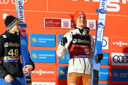 WC Willingen 2020 - Marius Lindvik, Stephan Leyhe