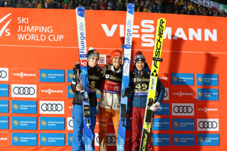 WC Willingen 2020 - Marius Lindvik, Stephan Leyhe, Kamil Stoch