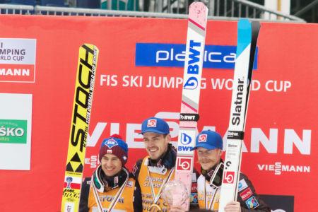 WC Planica 2018 - Andreas Stjernen, Kamil Stoch, Robert Johansson