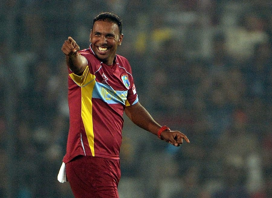 Samuel Badree bowls best bowling for West Indies in World T20