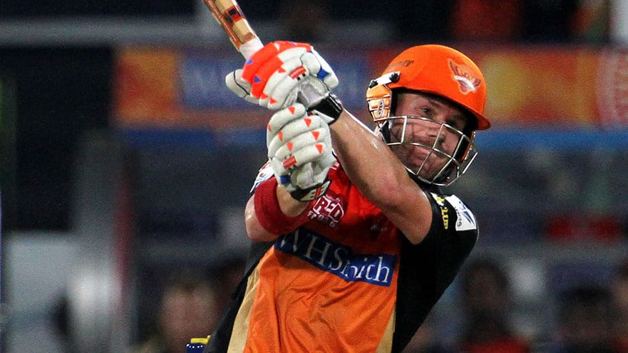 David Warner was the main stay for the SRH