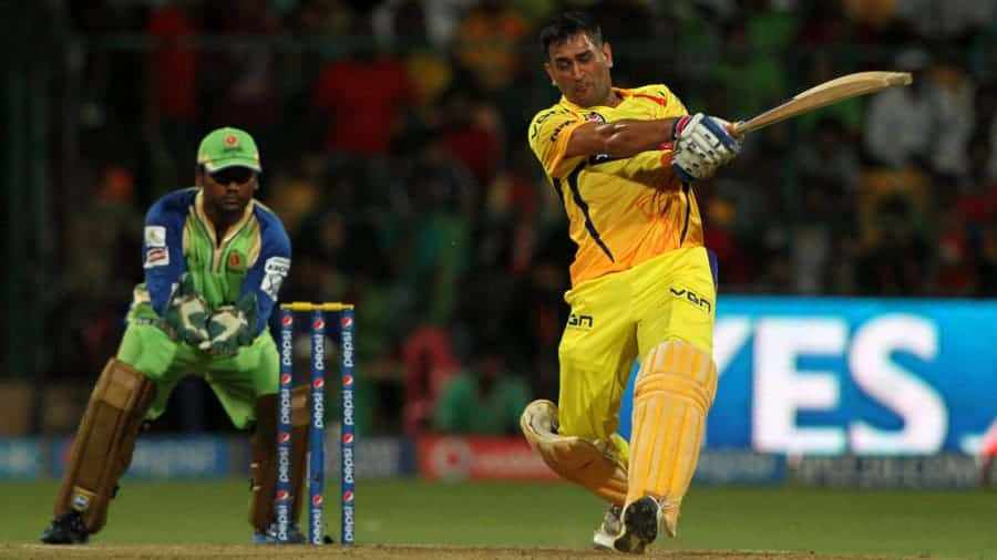 MS Dhoni played his part to push CSK to the second place on the table