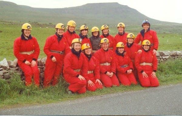 Caving Team