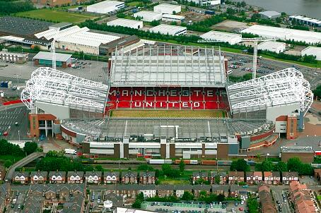 Old Trafford Ariel View