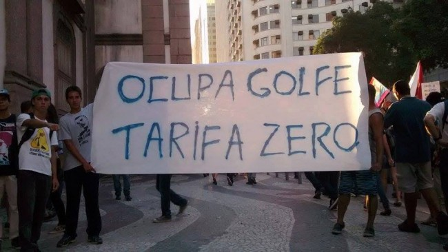 With the 2016 Olympic golf course ready, Brazilians are protesting