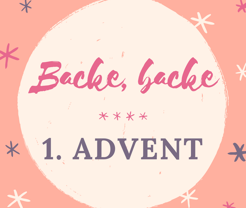 1. Advent: Backe, backe Rüeblikuchen