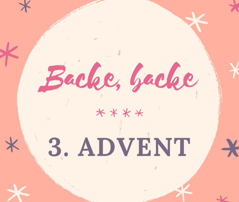 3. Advent: Backe, backe Guetzli