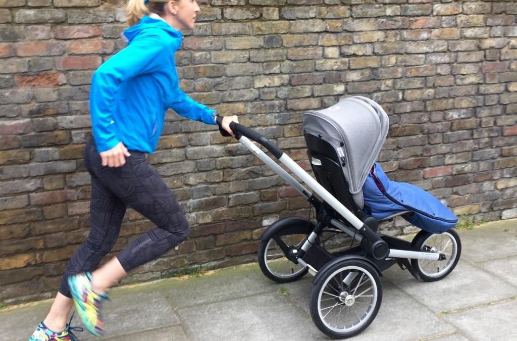 Lauftraining mit dem Bugaboo Runner