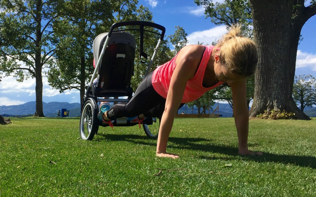 Workout mit Kinderwagen