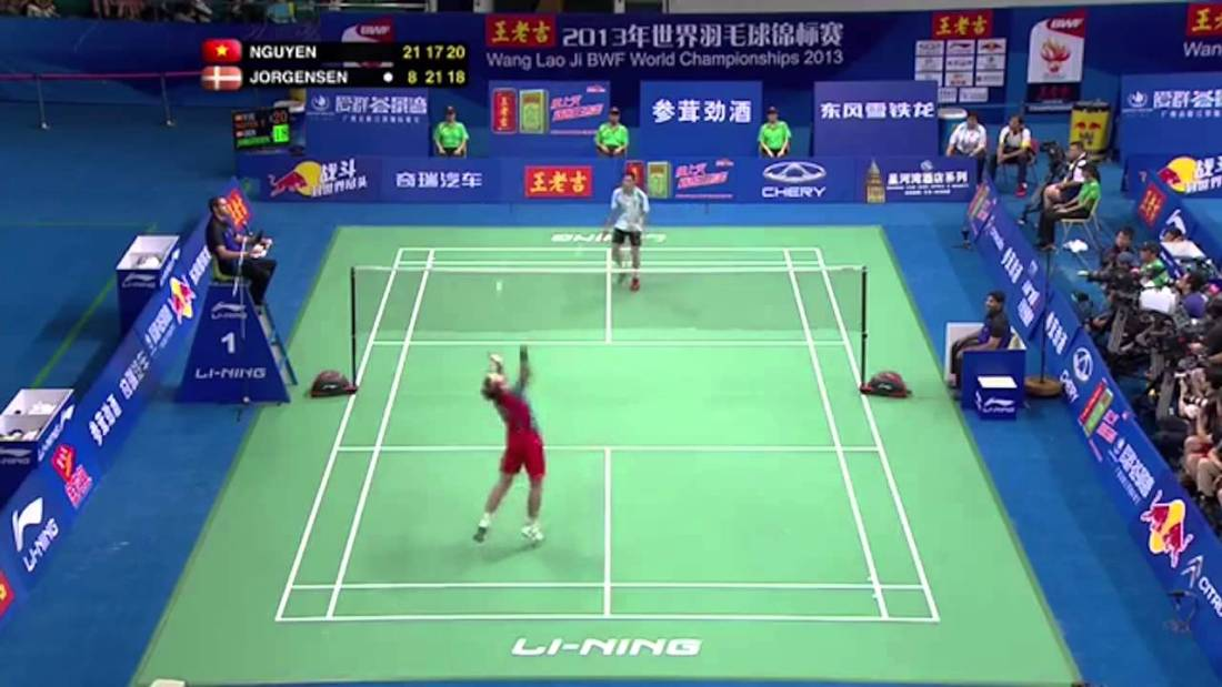 badminton rules singles and doubles