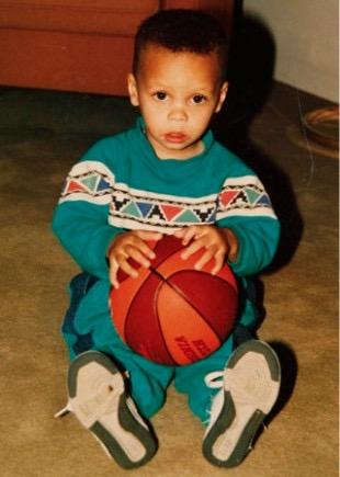Stephen Curry Childhood Photo