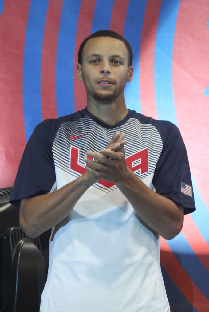 Stephen Curry At The 2014 Usa World Basketball Festival