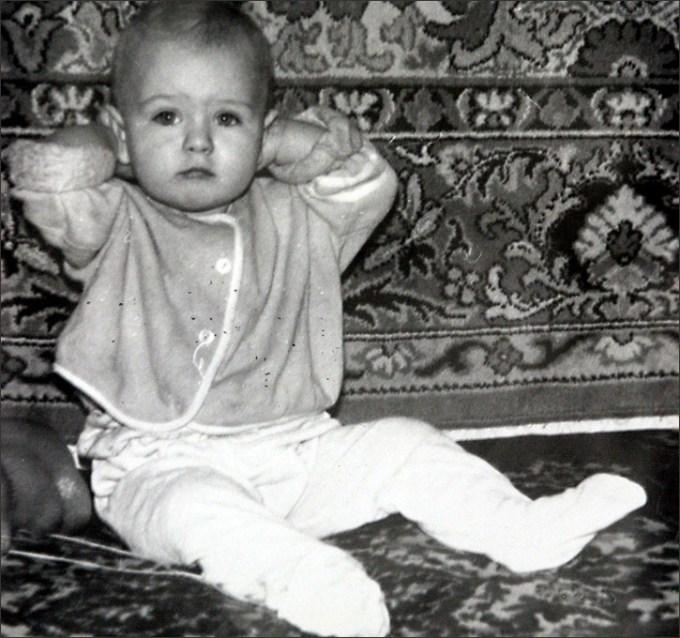 Maria Sharapova Childhood Photo